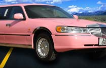Stretched Pink Limo Hire Preston Bolton